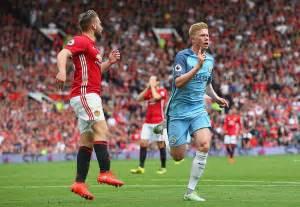 Manchester united x manchester city premier league 2016 2017