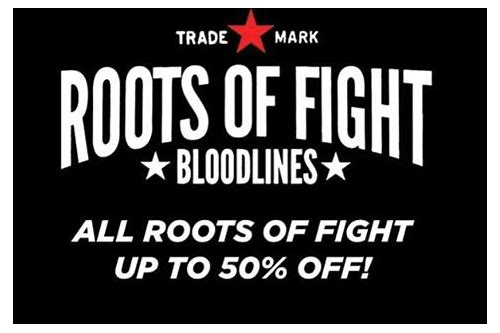 roots of fight coupon codes