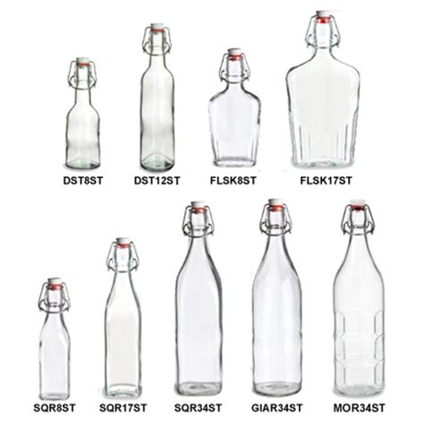 wholesale swing top bottles beverage glass bottles growler swing top specialty bottle