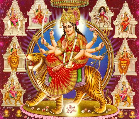 Decoration For Navratri At Home by Maa Durga Image Gallery Of God
