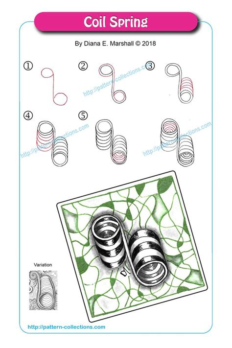 zentangle pattern coil 7807 best tangles images on pinterest zentangle patterns