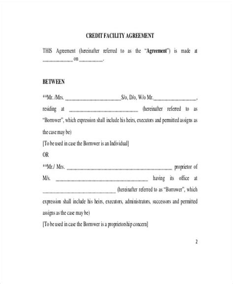 doc 736967 printable loan agreement free printable