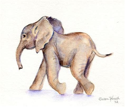 25 beautiful elephant watercolor ideas on elephant tattoos watercolor elephant