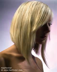 Concave bob hairstyles back view concave line bob