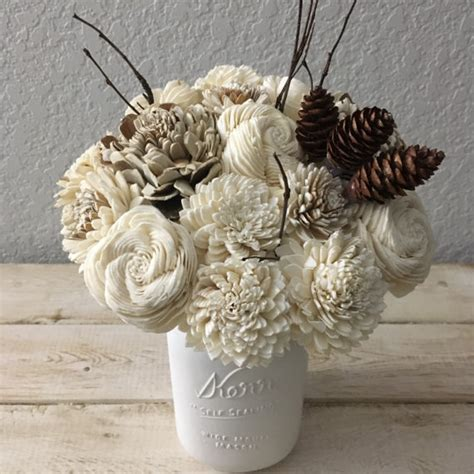 Gorgeous Wood Flower Bouquets You Can Keep Forever   Mid
