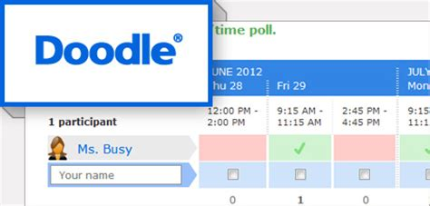 how to use doodle scheduler il cloud di cglearn it