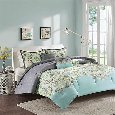 aqua bed comforters intelligent design zana comforter set in aqua bed bath