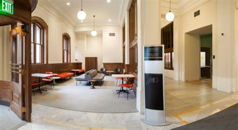 lobby main entrance wnf kendall college  art