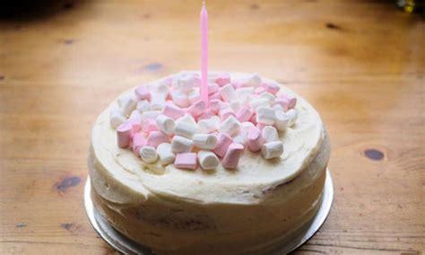 simple marshmallow birthday cake kidspot