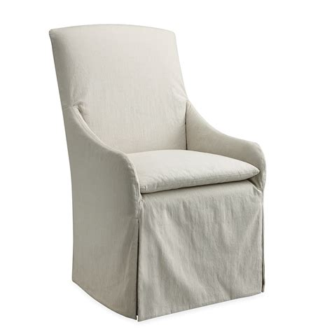 Slipcovered Chair slipcovered dining chair villa vici contemporary
