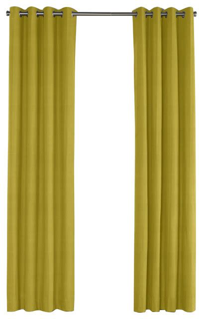 chartreuse curtains drapes chartreuse green linen grommet curtain contemporary