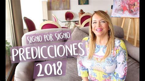 horscopo youtube mnica eyarbide predicciones 2018 signo por signo youtube