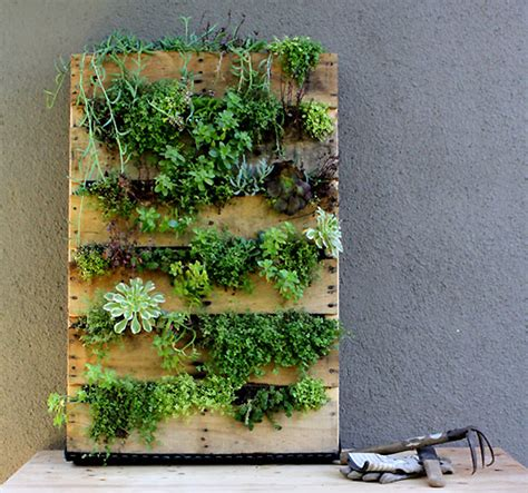 Planters Wall by Upcycle Anything Into A Planter