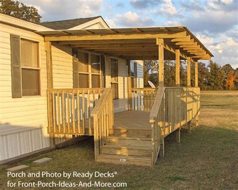 building a mobile porch designs for mobile homes mobile home porches