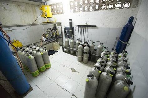 Kompresor Timor compressor room nitrox fills picture of dive timor