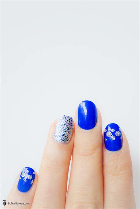 new year simple nail new years nails
