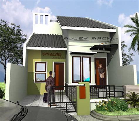 desain rumah idaman desain rumah idaman 1 lantai type 45