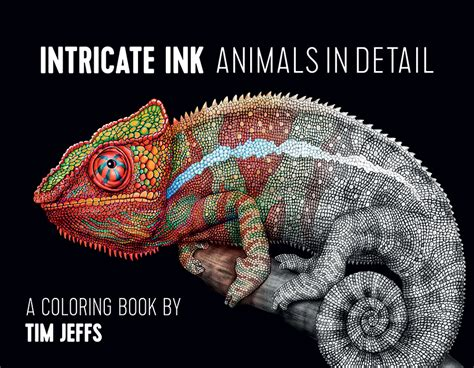 intricate ink animals in intricate ink animals in detail coloring book