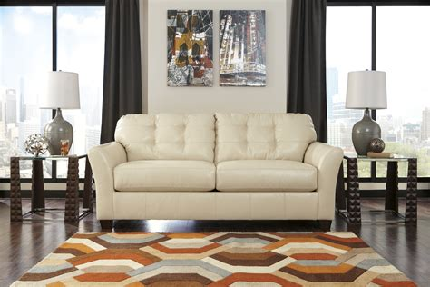 distressed leather living room furniture furniture white distressed leather sofa with pattern rug