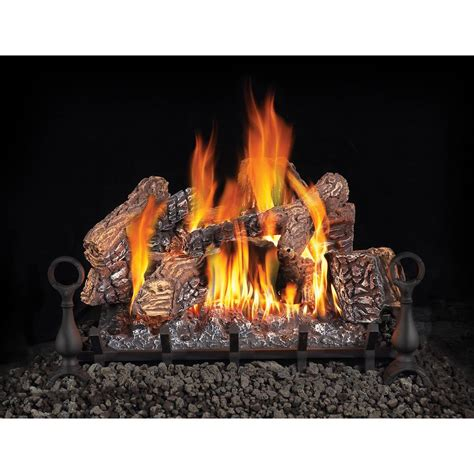 Home Depot Fireplace Logs by Napoleon 30 In Vented Gas Log Set With Electronic