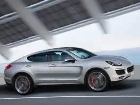 Porsche Coupe Porsche Cayenne Coupe Planned