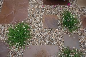 Paving Designs For Backyard Gravel Garden Garden Pinterest