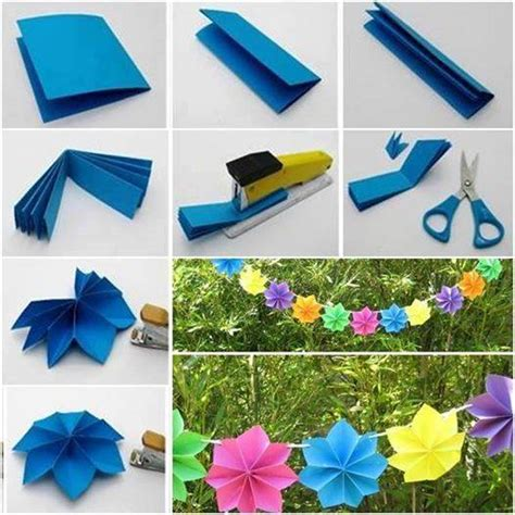 easy paper decoration for and creativity