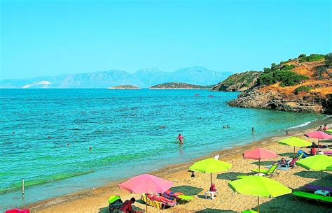 agios nikolaos crete greece beach 25 greek beaches that will give you extreme wanderlust