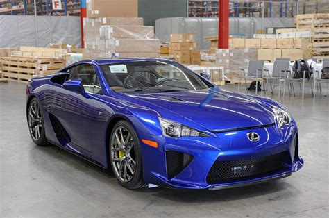 lexus lfa blue sick cars in vancouver page 177 revscene automotive forum