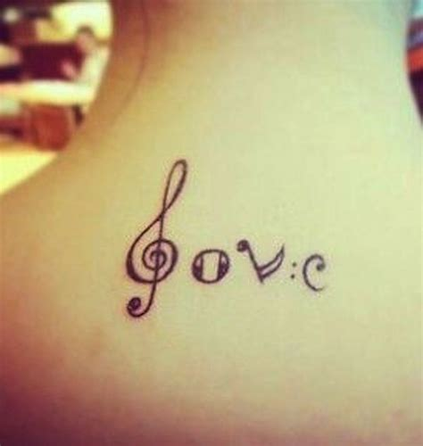 couples music tattoos 25 trending note tattoos ideas on