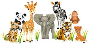 details about zoo animals wall stickers totally movable buy now kindergarten decal easy peel and stick