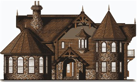 Cabins To Castles by Castle Log Home Plan By Log Castles By Bet R Bilt