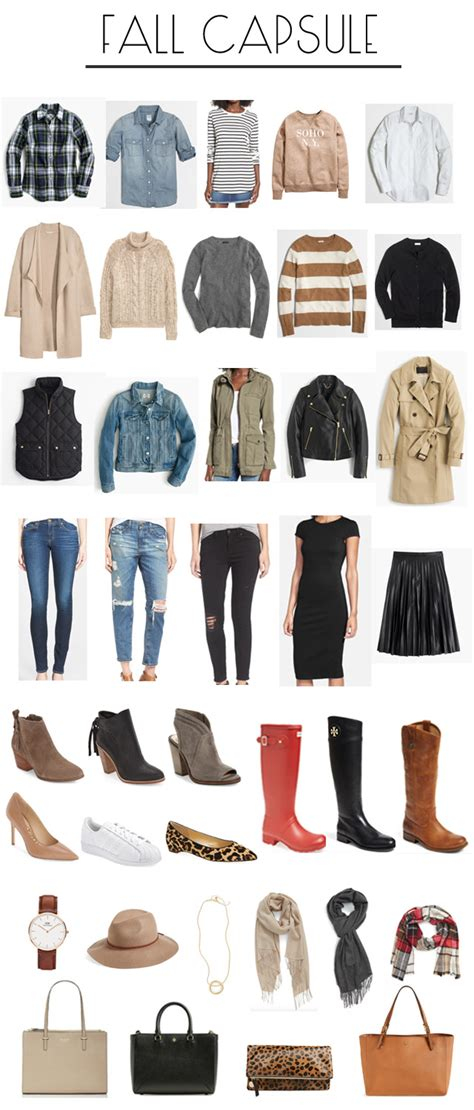 How To Capsule Wardrobe by Building A Fall Capsule Wardrobe Dress Cori