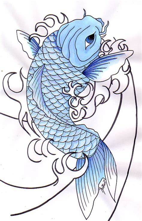 blue koi fish tattoo 21 koi fish design and ideas
