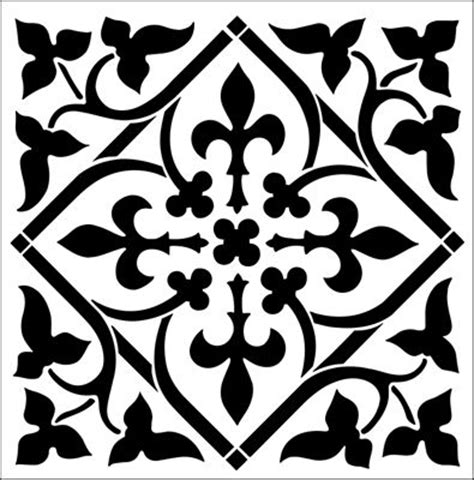 pattern tile stencils 241 best stencils stenciling ideas images on pinterest
