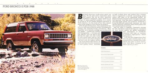 car manuals free online 1988 ford bronco spare parts catalogs online shop manual ford bronco 2 1988