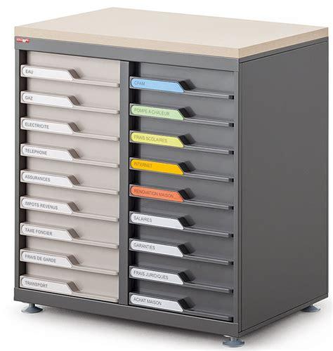 classement des dossiers dans un bureau classement tiroirs bisley clen module de