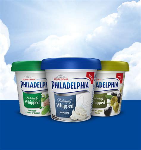 Cheese Philadelphia philadelphia soft cheese products and recipes uk