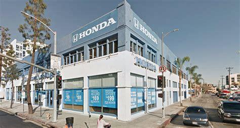 dealership los angeles honda dealership downtown l a dtla figueroa corridor