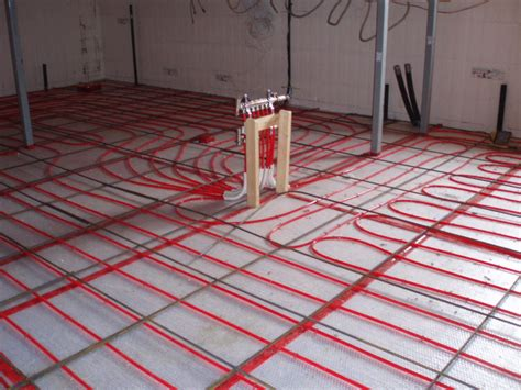 above floor radiant heat gurus floor