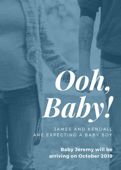 Customize 133  Pregnancy Announcement templates online   Canva