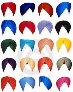 Punjabi sikh turban patka pathka of different colors and sizes kanga