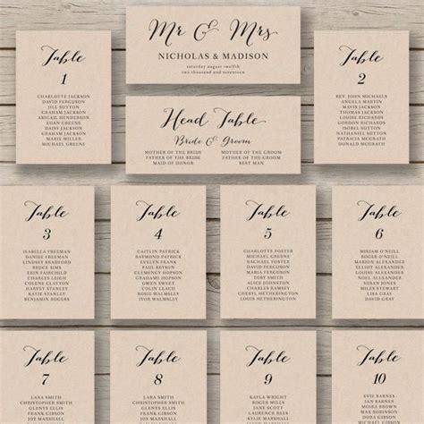 wedding seating arrangement cards wedding seating chart template printable seating chart