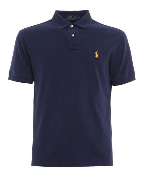 Polo Shirt Polos Original Cotton cotton polo with logo by polo ralph polo shirts