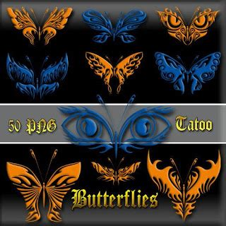 tattoo kupu kupu 3d design tattoo kupu kupu clipart butterflies tattoo