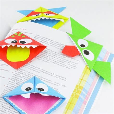 How To Make A Cool Origami Bookmark - make these adorable origami bookmarks there are