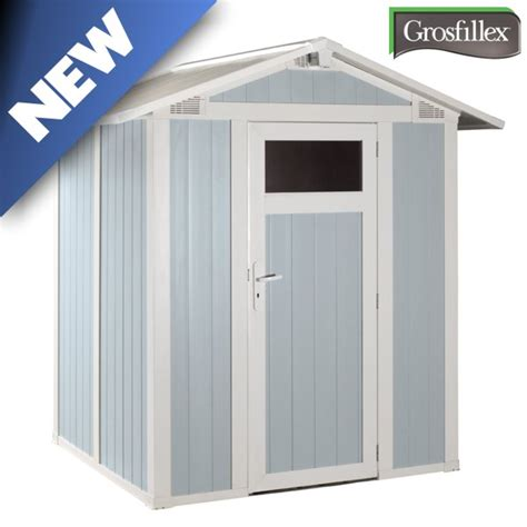 Pvc Sheds Uk by Grosfillex Utility 3b Pvc Shed