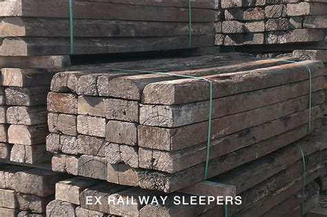 What Size Are Railway Sleepers by Ex Railway Sleepers