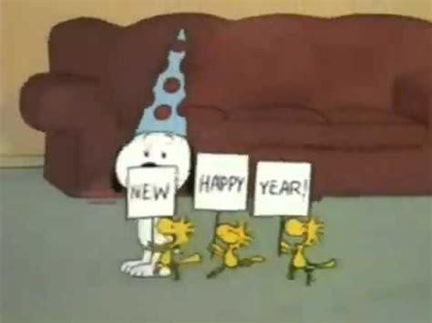happy new year snoopy