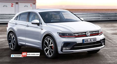 volkswagen tiguan cross coupe gti  suv en mutation